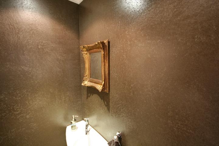 Tadelakt in badkamer beal mortex color - Douche italiaanse muur ...