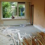 Stucwerk woonkamer 1