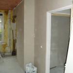 Stucwerk woonkamer eindresultaat